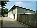TQ0622 : Brinsbury College grooming parlour and pet accessories by Robin Webster