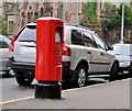 J3375 : Pillar box, Belfast by Albert Bridge