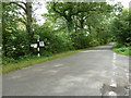 SU8425 : Road junction at the end of Lambourne Lane by Dave Spicer