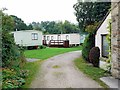 NZ0737 : The Forge Holiday Home Park, East End, Wolsingham by Andrew Curtis
