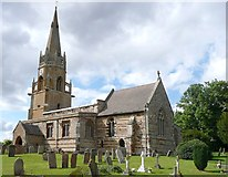 SP8666 : St Mary's Church, Wilby by Humphrey Bolton
