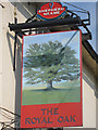 TR0539 : The Royal Oak sign by Oast House Archive
