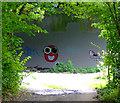 TQ1578 : Graffiti on the M4 : Week 35
