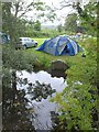 ST4552 : Campsite, Cheddar by Derek Harper