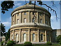 TL8161 : A view from the south east of the Rotunda, Ickworth by John Goldsmith