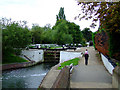 TQ1479 : Hanwell Locks by Thomas Nugent