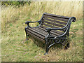 SK6538 : Seat on Dewberry Hill by Alan Murray-Rust