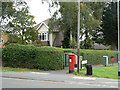SK6439 : Shelford Road postbox ref NG12 18 by Alan Murray-Rust