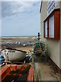 NZ7818 : Staithes Harbour Office by pam fray