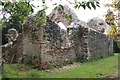 TG1431 : Mannington Church ruin by John Salmon