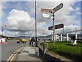 C2927 : Direction signs, Rathmullan by Kenneth  Allen