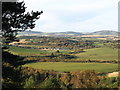 NJ6725 : The village of Oyne from the slopes of Bennachie by Doug Mortimer