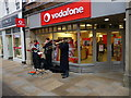 SU4829 : Winchester - Vodafone Shop by Chris Talbot