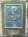 NT2673 : Thomas Hamilton plaque, Old Calton Burying Ground by kim traynor