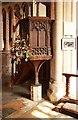 TG1127 : St Peter & St Paul, Heydon - Pulpit by John Salmon