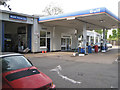 SP2482 : Porsche dealer and petrol station  by Robin Stott