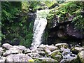 NS6180 : Campsie Fells, waterfall on Kirk Burn [4] by Robert Murray