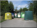 SP2582 : Recycling centre, Old Road, Meriden  by Robin Stott