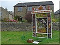 SK2276 : Well Dressing [1], Town End, Eyam by Robin Drayton