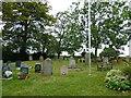 SP8328 : Churchyard, Holy Trinity Drayton Parslow by Basher Eyre