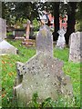 SX9193 : A misprint on a gravestone by David Smith