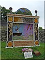 SK2276 : Well Dressing [2], Town End, Eyam by Robin Drayton