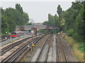 TQ2384 : Railway and underground lines west of Mapesbury Road, NW2 by Mike Quinn