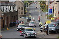 NT2540 : Start of the 2011 Tour of Britain, Peebles by Jim Barton