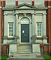 TQ3976 : Entrance, Ranger's House, Greenwich by Julian Osley