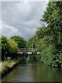 SJ9109 : Staffordshire and Worcestershire Canal at Four Ashes, Staffordshire by Roger  Kidd