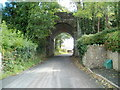 SO1839 : Grade II listed Treble Hill railway bridge, Glasbury, viewed from the NW by John Grayson