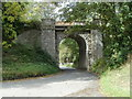SO1839 : Grade II listed Treble Hill railway bridge, Glasbury, viewed from the SE by John Grayson