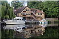 TQ7458 : The Malta Inn, Allington Lock, Kent by Christine Matthews