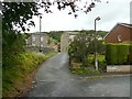 SE0126 : Driveway to Upper White Lee, Mytholmroyd by Humphrey Bolton