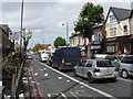 SP0984 : Stratford Road (A34) at Newton Road by Peter Whatley