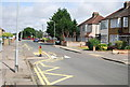 TQ5284 : Traffic Calming, Ford Lane by Nigel Chadwick