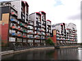 TQ3979 : Renaissance Walk, North Greenwich by David Anstiss
