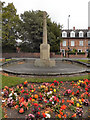 SJ7985 : War Memorial, Hale Barns by David Dixon