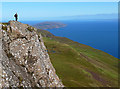 NG5739 : On top of Dun Caan by John Allan
