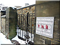 SE1532 : Disused entrance to St Luke's Hospital, Bradford by Phil Champion