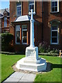 TQ3375 : The war memorial at Dulwich Hospital by Ian Yarham