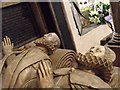 SK8039 : Tomb of 3rd Earl of Rutland - detail by J.Hannan-Briggs