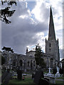 SK8039 : St Mary's Church, Bottesford by J.Hannan-Briggs