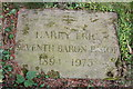 SK0423 : Gravestone for Harry Eric, 7th Baron Bagot, 1894-1973 by Mick Malpass