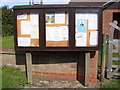 TM4152 : Sudbourne Village Notice Board by Adrian Cable