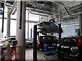 TQ2681 : City of Westminster College - car maintenance workshop by David Hawgood