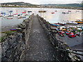 SH7877 : Section of town wall near the quay, Conwy by Phil Champion