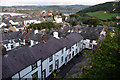 SH7777 : Terraced housing on Watkin Street, Conwy by Phil Champion