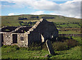 SD9186 : Chapel ruins below Stalling Busk by Karl and Ali
