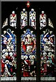 SP8619 : St Peter & St Paul, Wingrave - Stained glass window by John Salmon